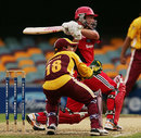 Shane Deitz pulls hard, Queensland v South Australia, Ford Ranger Cup, Brisbane, December 5, 2007