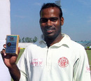 Rajshahi's Alamgir Kabir was named Man of the Match, Rajshahi v Barisal, Bogra, December 5, 2007