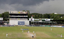 The clouds linger over the SSC in Colombo, before the rain fell to force a draw, Sri Lanka v England, 2nd Test, Colombo, December 13, 2007