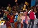 A festive crowd turned up for the match, Hyderabad Heroes v Mumbai Champs, Indian Cricket League, Panchkula, December 15, 2007