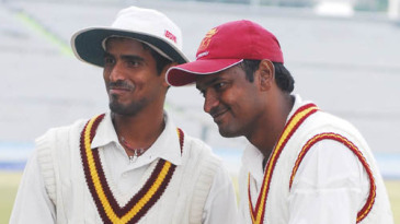 Basanth Mohanty and Debasis Mohanty claimed six wickets between them
