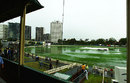 Heavy rain washed out play at Junction Oval, Victoria v Indians, tour match, Melbourne, 1st day, December 20, 2007