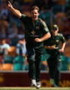 Brad Hogg's three wickets hastened New Zealand's defeat, Australia v New Zealand, 3rd ODI, Hobart, December 20, 2007