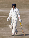 Shubhanshu Vijay walks back to the pavilion after being dismissed for 88,  Himachal Pradesh v Rajasthan, Ranji Trophy Super League, Group A, 7th round, 2nd day, Dharamsala, December 26, 2007