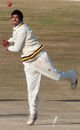 Vishal Bhatia sends in a flighted delivery, Himachal Pradesh v Rajasthan, Ranji Trophy Super League, Group A, 7th round, 2nd day, Dharamsala, December 26, 2007