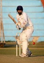 Nitesh Modi prepares to play a shot during his 49, Gujarat v Madhya Pradesh, Ranji Trophy Plate League, 1st semi-final, 2nd day, Delhi, December 26, 2007