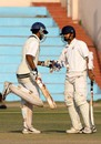 Rajesh Tabiar and Nitesh Patel added 71 runs for the first wicket, Gujarat v Madhya Pradesh, Ranji Trophy Plate League, 1st semi-final, 2nd day, Delhi, December 26, 2007