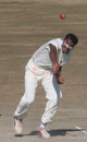 Rajasthan's Sumit Mathur fires in a delivery, Himachal Pradesh v Rajasthan, Ranji Trophy Super League, Group A, 7th round, 3rd day, Dharamsala, December 27, 2007