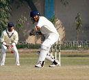 Madhya Pradesh's Jatin Saxena made 66, Gujarat v Madhya Pradesh, Ranji Trophy Plate League, 1st semi-final, 4th day, Karnail Singh Stadium, Delhi, December 28, 2007