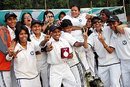 Dhaka celebrate victory against Khulna in Bangladesh Women's Divisional Cricket League