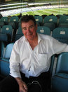 Jim Higgs at the MCG during the first Test between Australia and India, December 29, 2007