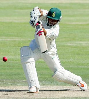 Ashwell Prince pushes into the off side, South Africa v West Indies, 2nd Test, Cape Town, January 3, 2008