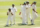 Mohammad Ashraful's two wickets gave Bangladesh reason to smile