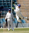 James Crosthwaite attempts to collect a throw, ACT XI v Indians, 1st day, Canberra, January 10, 2008
