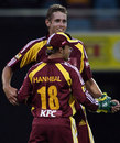 Grant Sullivan took 2 for 36, Queensland v Tasmania, KFC Twenty20, Brisbane, January 10, 2008