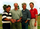 Rod Marsh, Dennis Lillee, Jeff Thomson and Greg Chappell