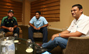Ricky Ponting, Anil Kumble and Ranjan Madugalle meet ahead of the Perth Test, Perth, January 14, 2008