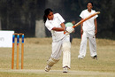 Tithy Sarkar in action during the women's open cricket tournament in Bangladesh, January 18, 2008