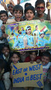 Fans in Ahmedabad celebrate India's win, Australia v India, 3rd Test, Perth,  January 20, 2008