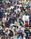 Fans enjoy Pakistan's match against India at the Niaz Stadium, 1st ODI, February 6, 2007