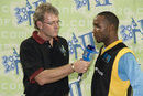Mike Haysman interviews St. Lucia captain Gary Mathurin, Cayman Islands v St Lucia, 2nd match, Stanford 20/20, Antigua, January 26, 2008