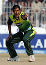 Kamran Hussain belts out an appeal, Pakistan v Zimbabwe, 4th ODI, Mobilink Cup, Faisalabad, January 30, 2008