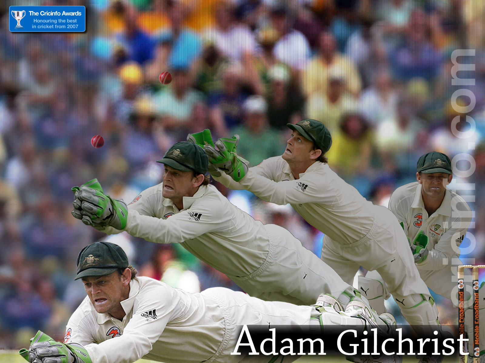 Adam Gilchrist, winner ODI batting