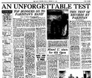The <I>Gleaner</I> reports on Hanif Mohammad's 337, West Indies v Pakistan, 1st Test, Barbados, January 23, 1958