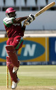 Brenton Parchment plays the pull off Shaun Pollock, South Africa v West Indies, 4th ODI, Durban, February 1, 2008