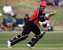 Johann Myburgh top scored for Canterbury with 87, Canterbury v England XI, 50-over tour match, Christchurch, February 2, 2008