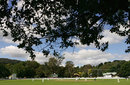 A picturesque view of the Bradman Oval, Australia v England, only Test, Bowral, February 15, 2008