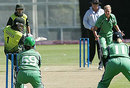 Tasqeen Qadeer cuts on her way to 30, Ireland Women v Pakistan Women, ICC Women's World Cup Qualifier, Stellenbosch, February 18, 2008