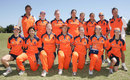 The Netherlands side before their opening game, Netherlands v PNG, ICC Women's World Cup Qualifier, Stellenbosch, February 18, 2008