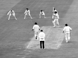 Congdon on his way to an unforgettable 176 at Trent Bridge in 1973