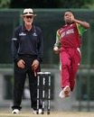 Jason Dawes prepares to send in a delivery, Papua New Guinea Under-19s v West Indies Under-19s, Under-19 World Cup, Kuala Lumpur, February 20, 2008