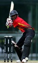 Arua Dikana winds up to play a shot, Papua New Guinea Under-19s v West Indies Under-19s, Under-19 World Cup, Kuala Lumpur, February 20, 2008
