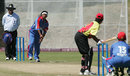 Maryellen Jackson bowls against Papua New Guinea, Bermuda v Papua New Guinea, ICC Women's World Cup Qualifier, Stellenbosch, February 21, 2008