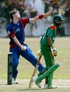 James Lee prepares to send in a delivery, Bangladesh Under-19s v England Under-19s, Under-19 World Cup, Kuala Lumpur, February 22, 2008