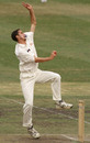 Jason Gillespie in action during his Test debut
