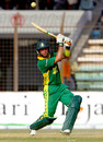 Herschelle Gibbs lofts the ball, Bangladesh v South Africa, 1st ODI, Chittagong, March 9, 2008