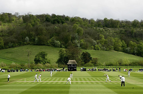 Lancashire play Buckinghamshire at Wormsley Park | Cricket Photo ...