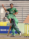 Mashrafe Mortaza snares William Porterfield, Bangladesh v Ireland, 1st ODI, Mirpur, March 18, 2008