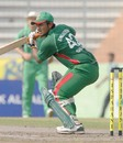 Shahriar Nafees guides the ball on his way to 90 not out, Bangladesh v Ireland, 1st ODI, Mirpur, March 18, 2008