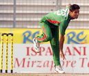 Farhad Reza in his delivery stride, Bangladesh v Ireland, 2nd ODI, Mirpur, March 20, 2008