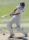 Andrew Strauss drives during his century