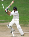 Stephen Fleming cuts behind square