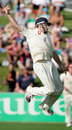Ian Bell leaps for joy after catching Grant Elliott