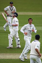 Jamie Dalrymple is aghast after mis-hooking Steven Finn to fine leg, Middlesex v Glamorgan, County Championship, Lord's, April 25, 2008