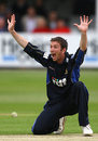 James Kirtley roars an appeal, Essex v Sussex, Friends Provident Trophy, Chelmsford, April 27, 2008