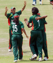 Panna Ghosh struck in her second over when she dismissed Dedunu Silva, Dambulla, Women's Asia Cup, May 5, 2008